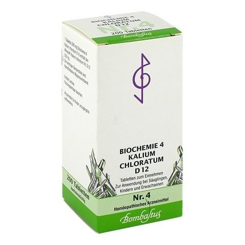 BIOCHEMIE 4 Kalium chloratum D 12 Tabletten 200 Stück N2