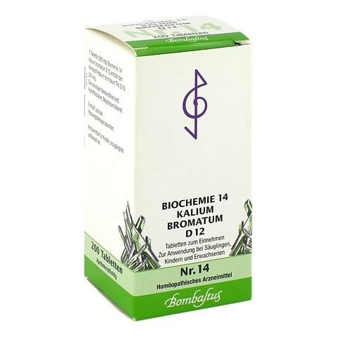 BIOCHEMIE 14 Kalium bromatum D 12 Tabletten 200 Stück N2