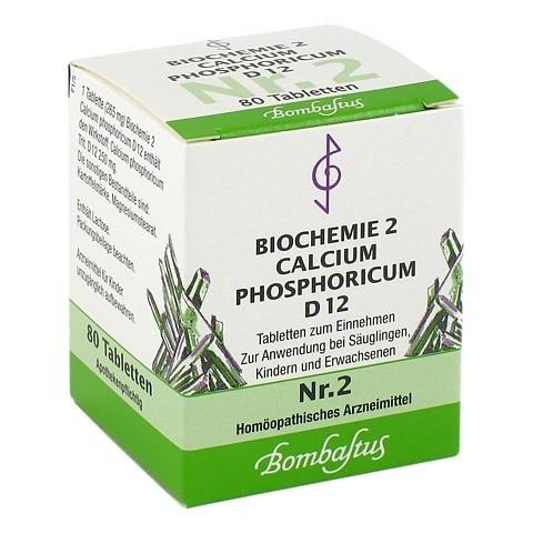 BIOCHEMIE 2 Calcium phosphoricum D 12 Tabletten 80 Stück N1