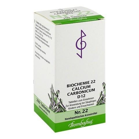 BIOCHEMIE 22 Calcium carbonicum D 12 Tabletten 200 Stück N2