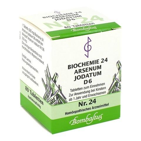 BIOCHEMIE 24 Arsenum jodatum D 6 Tabletten 80 Stück N1
