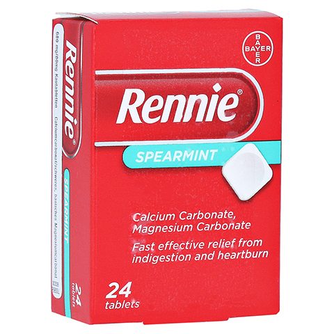 Rennie Spearmint 24 Stück N1