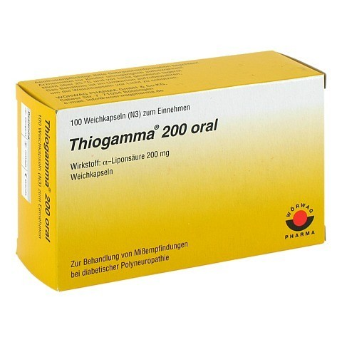 Thiogamma 200 oral 100 Stück N3
