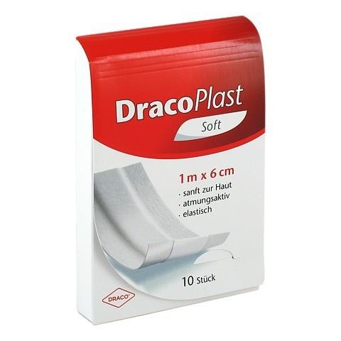 DRACOPLAST Soft Pflaster 6 cmx1 m 1 Stück
