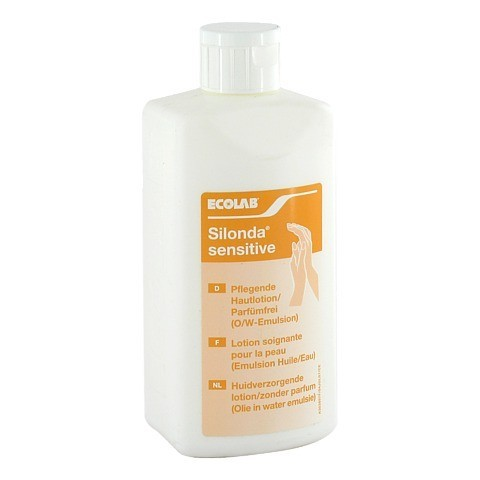 SILONDA sensitive Hautpflege Lotion Spenderflasche 500 Milliliter