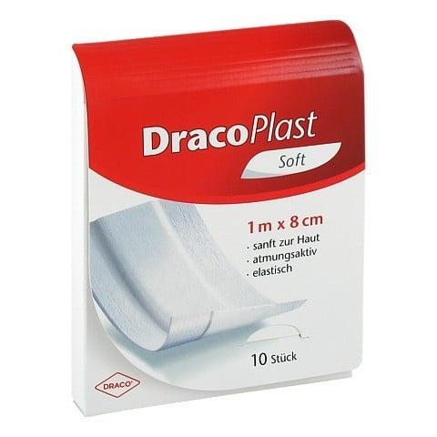 DRACOPLAST Soft Pflaster 8 cmx1 m 1 Stück