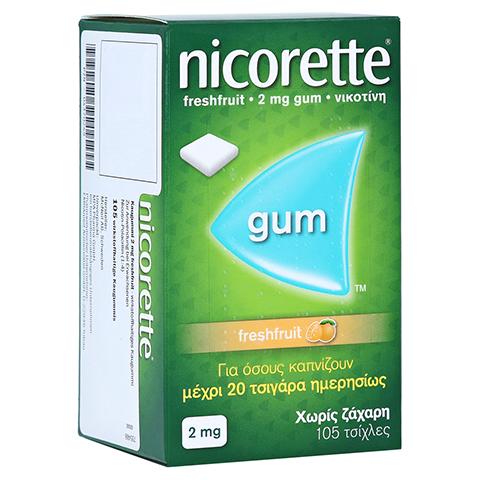 Nicorette 2mg freshfruit 105 Stück