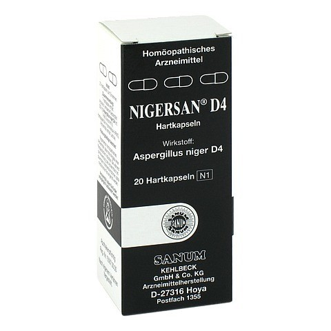 NIGERSAN D 4 Kapseln 20 Stück N1