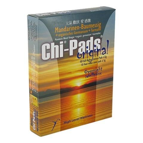 CHI PADS Mandarin.Baumessig Fußreflexzonen Pads 10x5 Gramm