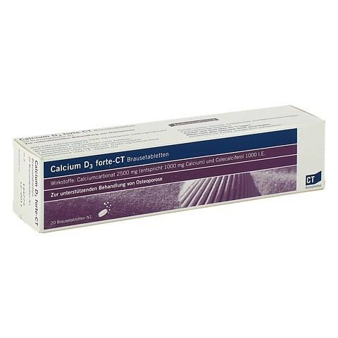 CALCIUM D3 forte-CT Brausetabletten 20 Stück N1