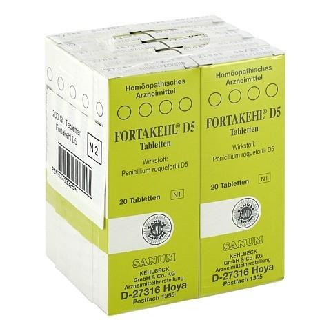 FORTAKEHL D 5 Tabletten 10x20 Stück N2