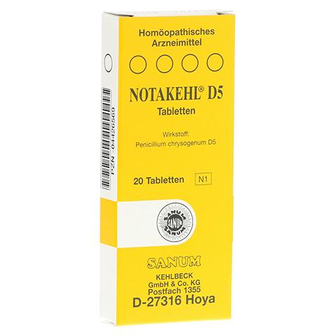 NOTAKEHL D 5 Tabletten 20 Stück N1