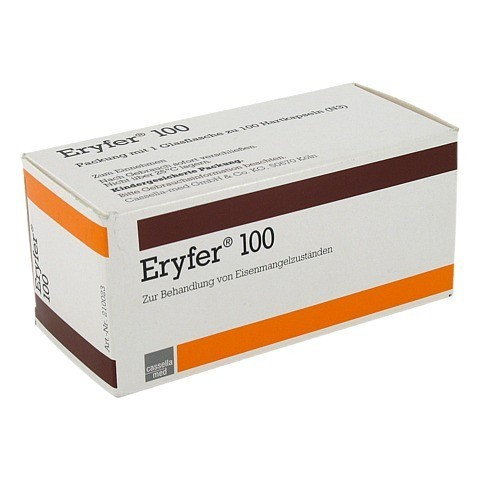 Eryfer 100mg 100 Stück N3