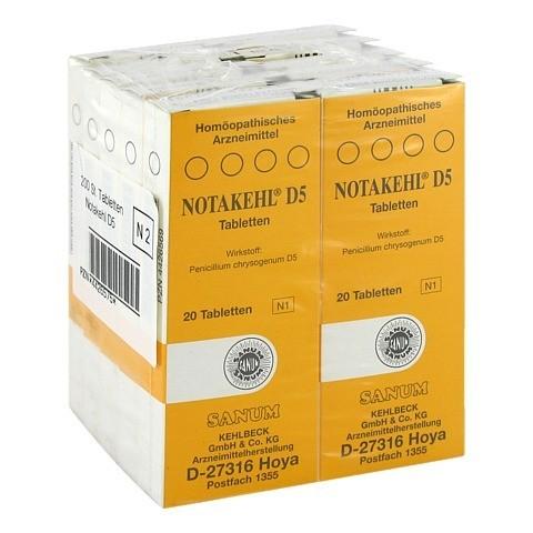 NOTAKEHL D 5 Tabletten 10x20 Stück N2