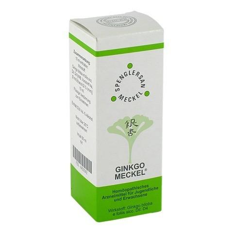 GINKGO MECKEL Tropfen 50 Milliliter N1