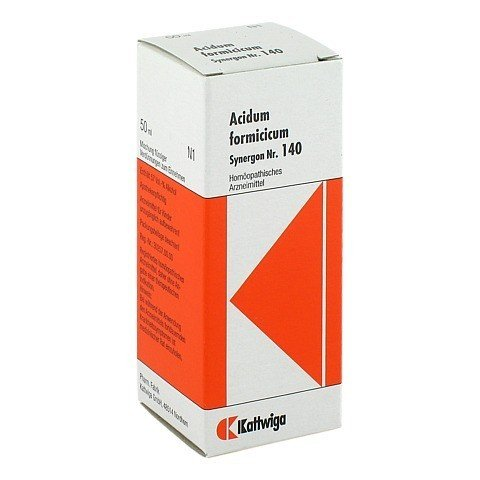 SYNERGON KOMPLEX 140 Acidum formicicum Tropfen 50 Milliliter N1