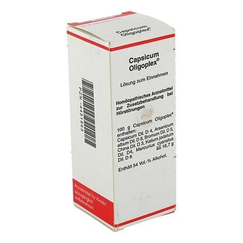 CAPSICUM OLIGOPLEX Liquidum 50 Milliliter N1