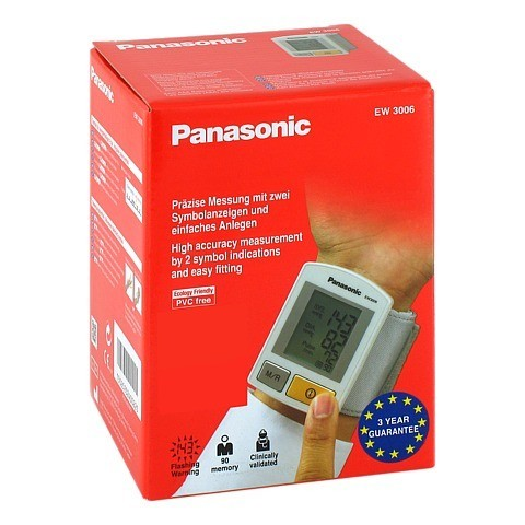 PANASONIC EW3006 Handgelenk-Blutdruckmesser 1 Stück
