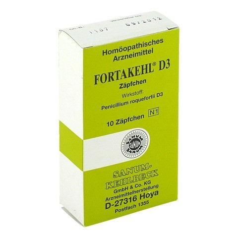 FORTAKEHL D 3 Suppositorien 10 Stück N1