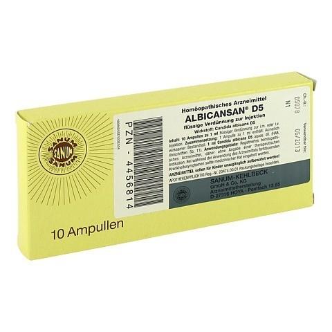 ALBICANSAN D 5 Ampullen 10x1 Milliliter N1