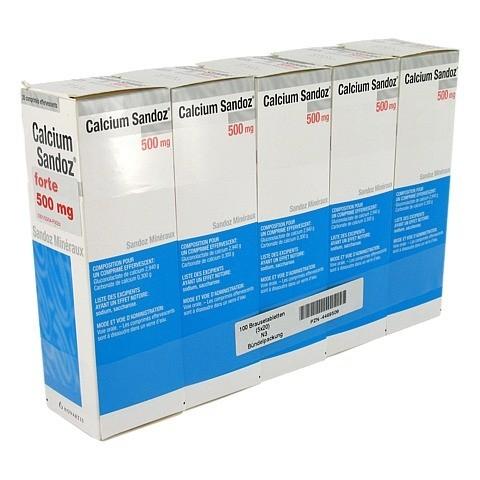 Calcium-Sandoz forte 500mg 100 Stück N3