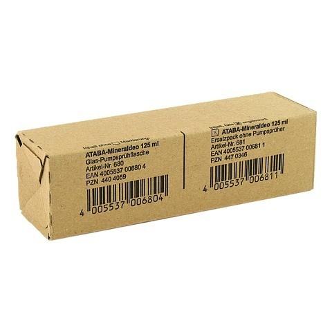 ATABA Mineral Deo Pumpspray Ersatzpackung 125 Milliliter