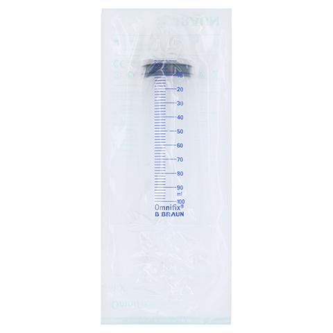OMNIFIX Wund u.Blasenspritze 100 ml m.Adapter 100 Milliliter