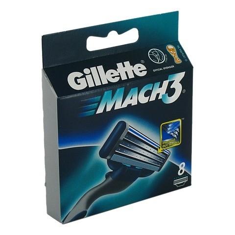 GILLETTE Mach3 Systemklingen 8 Stück