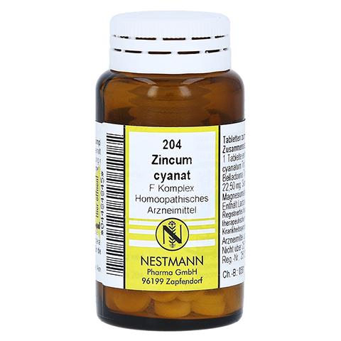 ZINCUM CYANATUM F Komplex Nr.204 Tabletten 120 Stück N1