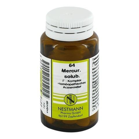 MERCURIUS SOLUBILIS F Komplex Nr.64 Tabletten 120 Stück N1