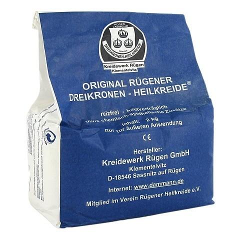 ORIGINAL RÜGENER Heilkreide Pulver 2 Kilogramm