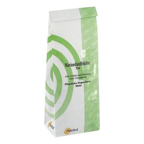 Mariendistelfrüchte Tee Aurica 150 Gramm