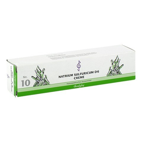 BIOCHEMIE 10 Natrium sulfuricum D 6 Creme 100 Milliliter N2