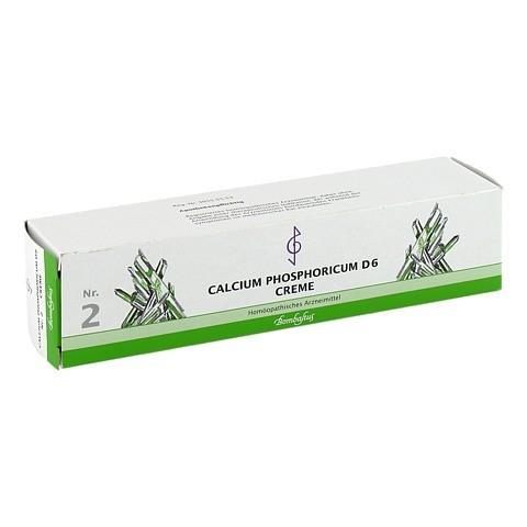 BIOCHEMIE 2 Calcium phosphoricum D 6 Creme 100 Milliliter N2