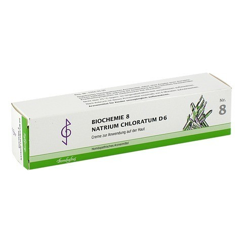 BIOCHEMIE 8 Natrium chloratum D 6 Creme 100 Milliliter N2