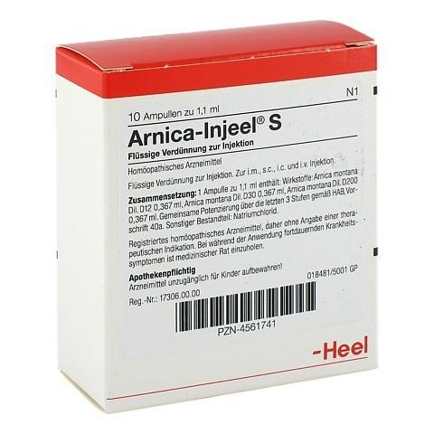 ARNICA INJEEL S Ampullen 10 Stück N1