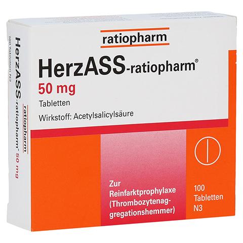 HerzASS-ratiopharm 50mg 100 Stück N3