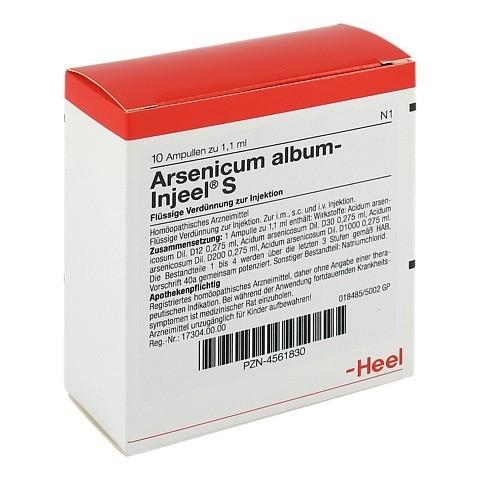 ARSENICUM ALBUM INJEEL S Ampullen 10 Stück N1