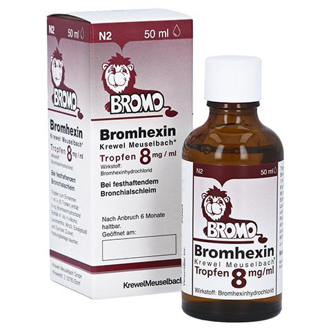 Bromhexin Krewel Meuselbach 8mg/ml 50 Milliliter N2