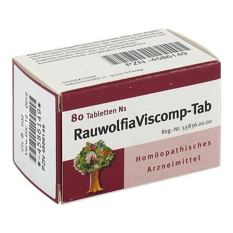 RAUWOLFIAVISCOMP TAB Tabletten 80 Stück
