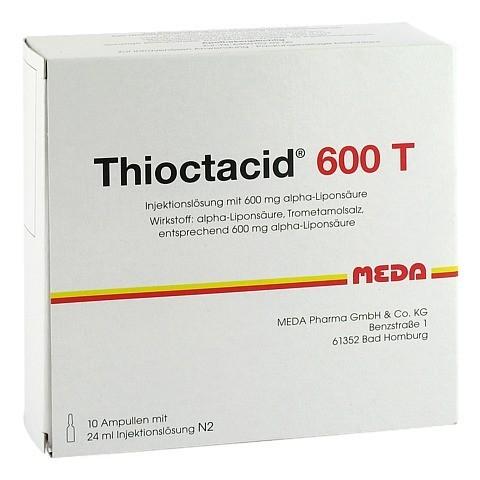 THIOCTACID 600 T Injektionslösung 10x24 Milliliter N2