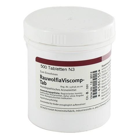 RAUWOLFIAVISCOMP TAB Tabletten 500 Stück N3