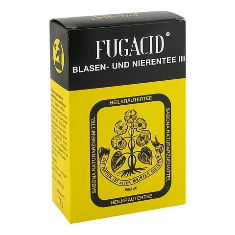 Fugacid Blasen- und Nierentee III 75 Gramm