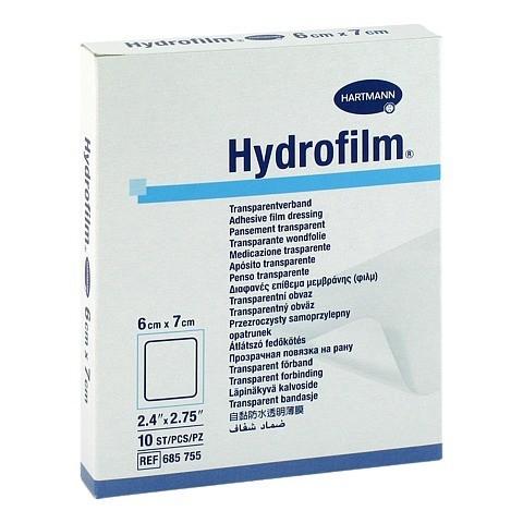 HYDROFILM Transparentverband 6x7 cm 10 Stück