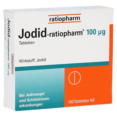 Jodid-ratiopharm 100µg 100 Stück N3