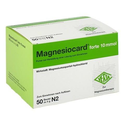 MAGNESIOCARD forte 10 mmol Plv.z.Her.e.Lsg.z.Einn. 50 Stück N2