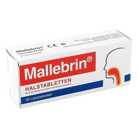 MALLEBRIN Halstabletten 50 Stück