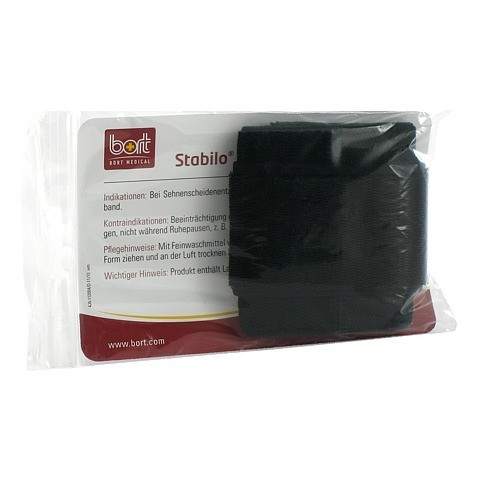 BORT Stabilo Handgelenkbandage Gr.1 schwarz 1 Stück