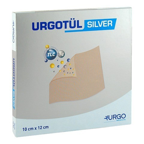 URGOTÜL Silver 10x12 cm Wundgaze 10 Stück