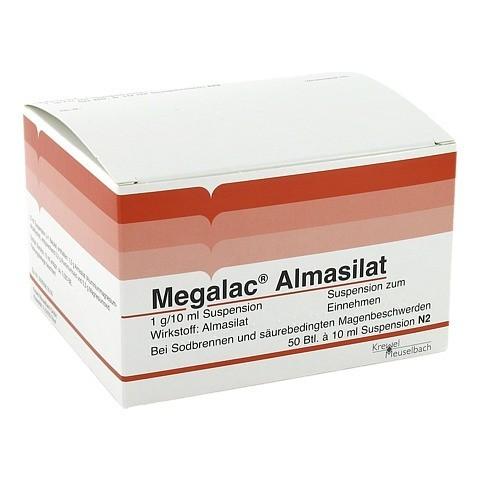 Megalac Almasilat Beutel 50x10 Milliliter N2